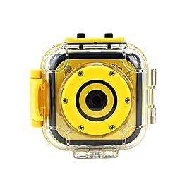 ZXY Videocamera Digitale, 20M Impermeabile di Azione di Sport HD DV telecamere Multiple Schermo LCD colorato Lingue Underwater Camera 1.77inch