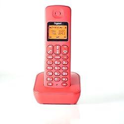 Gigaset A100 Red cordless landline phone