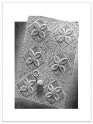 1761 Princess Pram Cover Vintage Knitting Pattern Ebook Princess Of