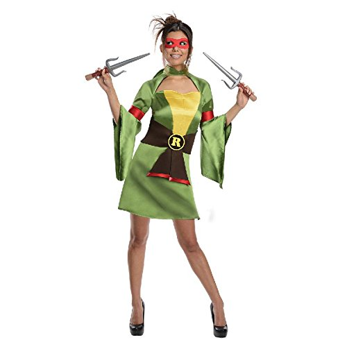 Teenage Mutant Ninja Turtles Damen Kostüm Lady Raphael TMNT (Tmnt Damen Kostüme)