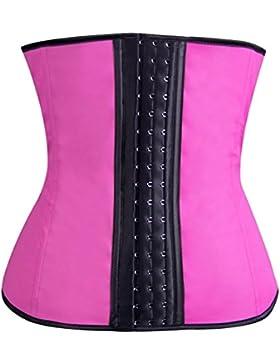 Binhee Mujer Waist Cincher Corsé Fajas Cinturón Firme De Formación Para Cincher Underbust Rosa Medium