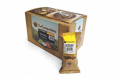 LaCompatibile.it NESPRESSO® - 100 Capsule Compatibili Caffè Oro di Napoli