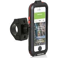 Wicked Chili Tour Case für Apple iPhone SE / 5S / 5 - Outdoor Fahrradhalterung Bike Navigation (Spritzwasserschutz IPx4, Ladekabelanschluss, Kopfhörerbuchse, neig- und drehbar)