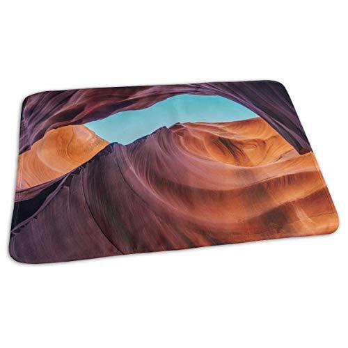 Voxpkrs Baby Changing Pad Liners Antelope Canyon Print Weiche Wickelauflage für Jungen Mädchen 25.5