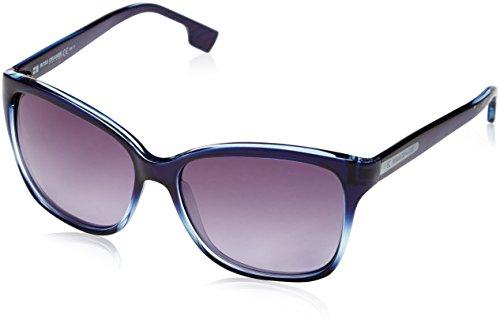 Boss orange occhiali da sole da donna 0060/s - aid/hd: celeste sfumato