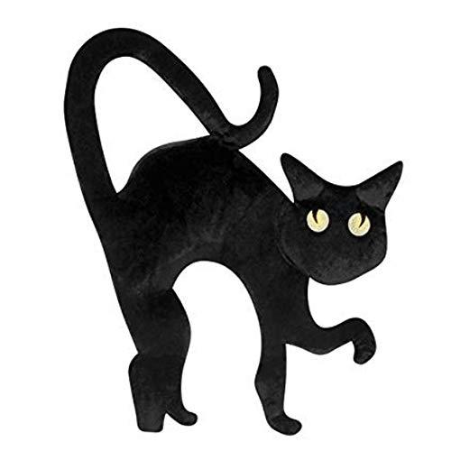 Rasta Imposa Black Cat schwarz Katze Kinder Mädchen Fasching Halloween Karneval Handtasche Katze Bag