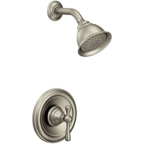 Moen T3112BN Kingsley Moentrol Shower Trim Kit without Valve, Brushed Nickel by Moen