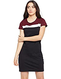 9515d348df3482 The Dry State Woman s Colorblock Cotton Dress G213- P