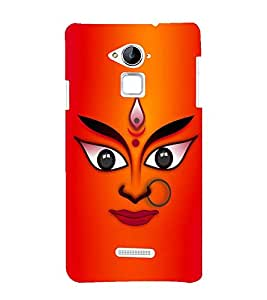 printtech Goddess Devi Durga Back Case Cover for Coolpad Note 3 Lite