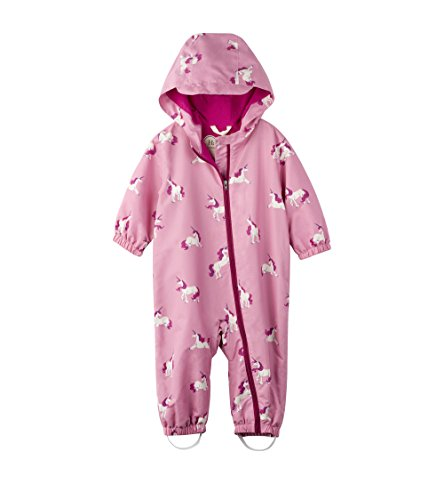 Hatley Baby Girls' Microfiber Bundlers Rain Jacket