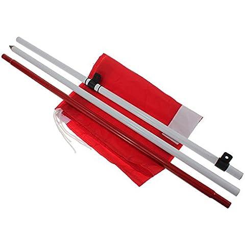 Pixnor Cortile pratica Golf Polo Cup bandiera bandiera Set tazza bastone sussidio di addestramento