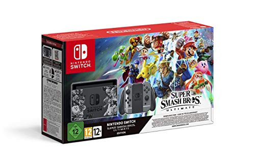 Nintendo Switch - Edición Super Smash Bros. Ultimate