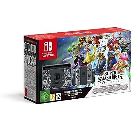 Nintendo Switch, Edizione Speciale Super Smash Bros. Ultimate - Limited