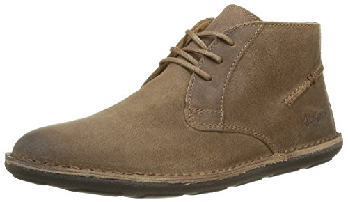 Kickers Swibo, Chaussures Lacées Homme Marron (Camel)