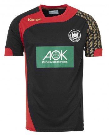 Kempa DHB Away T-Shirt Set, Herren, Herren, DHB Away, schwarz/rot