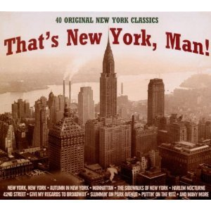 All About NYC (Compilation CD, 40 Tracks, Various) fred astaire putting on the ritz / louis armstrong harlem stomp / frank sinatra brooklyn bridge / sammy davis jr new york's my home / stan getz quartet long island sound / ella fitzgerald manhattan u.a.