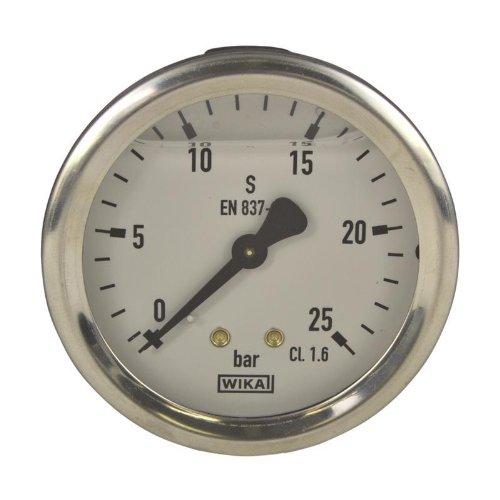Manometer, NG 63, 0-25 bar - WIKA 213.53 - 9022260 (Manometer Flüssigkeit)