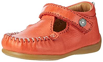 bellybutton Mädchen Lauflerner T-Spangen Sandalen, Rot (Papavero), 21 EU