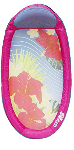 Swimways 6038048 - amaca galleggiante spring float con decorazioni, colori assortiti