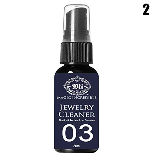 Gizayen Connoisseurs Precious Jewellery Cleaner - 30g - JJewelry Polish Cleaner and Tarnish Remover for Silver Jewelry Antique Silver Gold Brass -