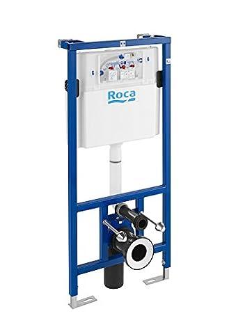 Roca Duplo WC–Rack avec double chasse d'eau à encastrer de chasse pour WC suspendu