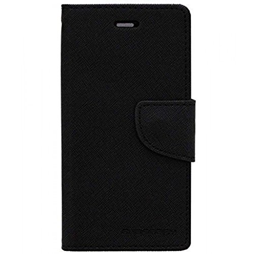 Micromax Canvas 2.2 A114 Mercury Flip Wallet Diary Card Case Cover (Black) By Mobile Life  available at amazon for Rs.189