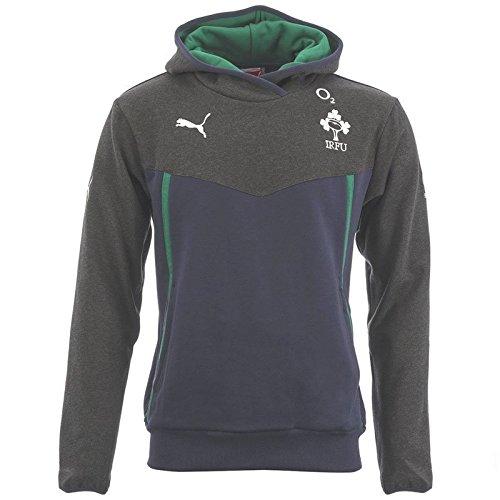 Irlanda Rugby 2013/14 da bambino con cappuccio blu navy