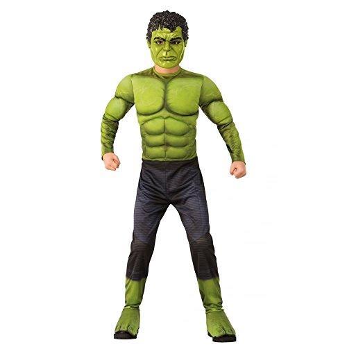 Hulk Kind Kostüm, Jungen, Mehrfarbig, 3–4Jahre (Top 10 Kleines Mädchen Halloween Kostüme)