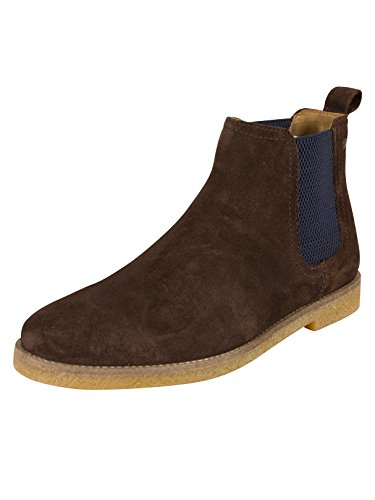 Base London Uomo Ferdinand Boots, Marrone Marrone