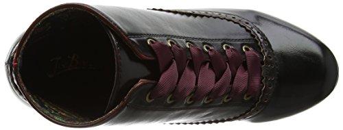 Joe Browns Damen Molto Vintage Stivaletti Stiefel Rot (brunito Rosso)