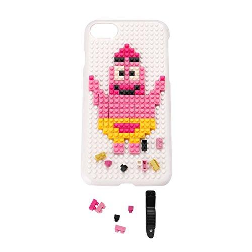Liamoo® Apple iPhone 7 Baustein-Hülle / Schurzhülle / selber - bauen / gestalten / design / ausgefallen / Muster / Lachen mit Herz Seestern