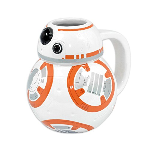Taza 3-D Star Wars: Episode VII - The Force Awakens BB-8