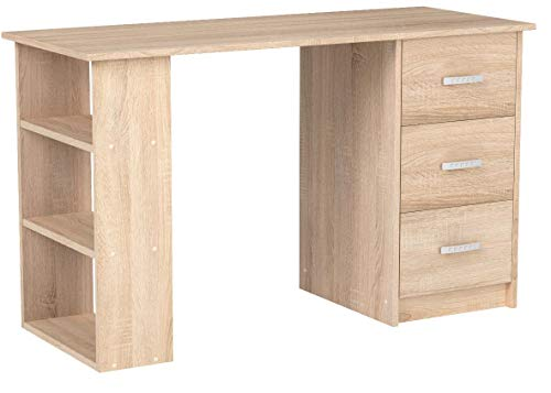 COMIFORT, Schreibtisch, Bürotisch, Büroschreibtisch, Maße: 120 x 49 x 72 cm