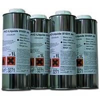 Fluidra 52623 - Pvc liquido ak transparen(botes 1 litro)