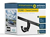 Weltmann 7B060009 Ford TOURNEO Connect + Grand TOURNEO Connect - Starre Anhängerkupplung inkl. fahrzeugspezifischem 13