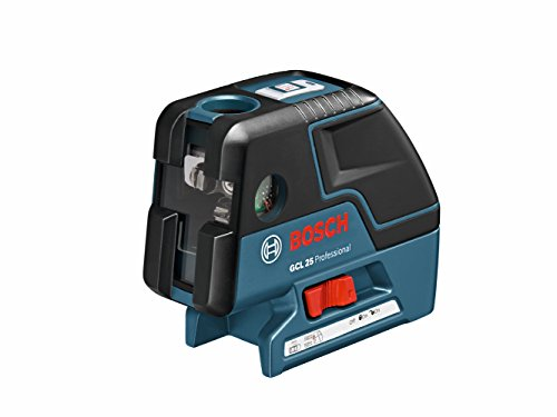 Bosch GCL 25 Self Leveling 5-Point Alignment Laser with Cross-Line and L-BOXX Storage Case by BOSCH -
