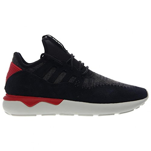 Adidas Tubular Moc Runner (core Noir / tomate Rouge) Chaussures B24693 (6) Black / Tomato-White