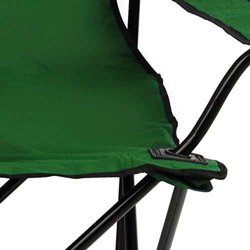 Trail Folding Camping Chairs Fold Up Camp Festival Fishing Chair Green/Blue/Red