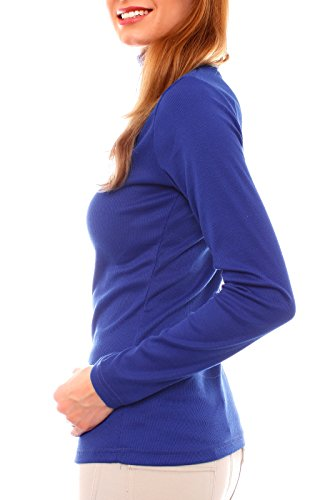 Easy Young Fashion -  Maglione  - Basic - Dolcevita  - Donna Royal