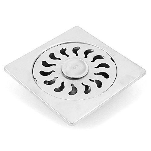 Per bagno e cucina Colino in acciaio INOX da pavimento per tubi di scarico