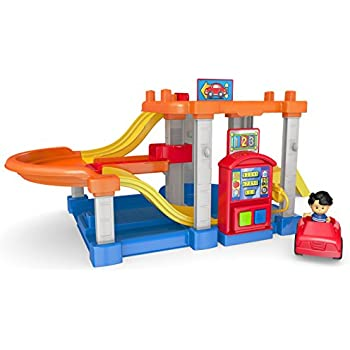 Fisher price little people racin 39 ramps garage - Fisher price little people racin ramps garage ...