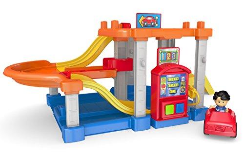 Fisher-Price Little People Autocenter - Juguetes de Arrastre (Multi, De plástico, Interior)