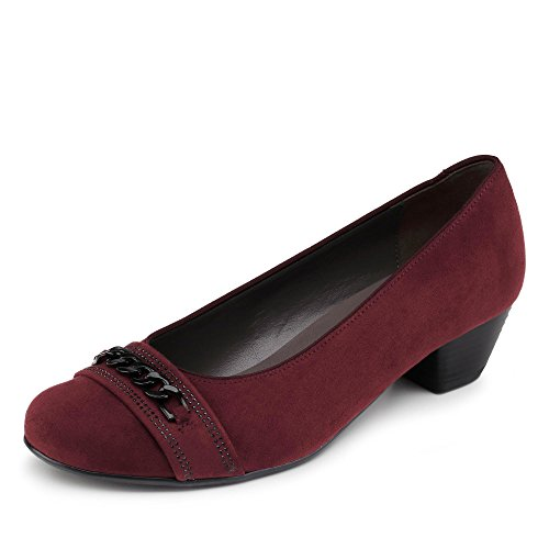 Jenny Catania Pumps Bordeaux