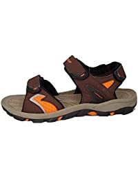 Dunlop Mens Two Bar Hook & Loop Fastening Trekking Sandals