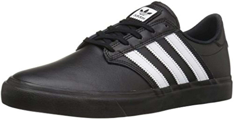 adidas Originals Men's Shoes | Seeley Premiere Premiere Premiere Fashion Sneakers, Black/White/Black, (6.5 M US) ea321c