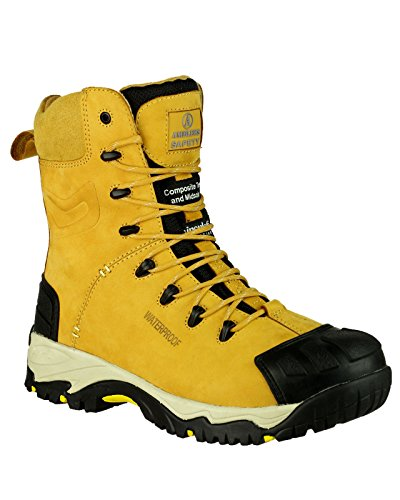 Amblers Safety FS998 Safety Zips Sicherheitsstiefel Honey