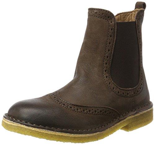 Bisgaard Unisex-Kinder Stiefelette Chelsea Boots, Braun (302 Brown), 34 EU