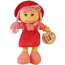 A to Z 31003Ruby mi primera muñeca de trapo con pelo trenzado y sombrero
