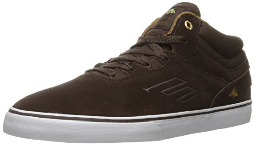 Emerica Westgate Mid Vulc, Herren Skateboardschuhe Dark Brown