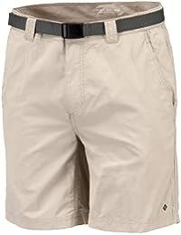Columbia Wanderhose Kurz Silver Ridge Shorts - Pantalones para hombre, color fósil, talla DE: 32